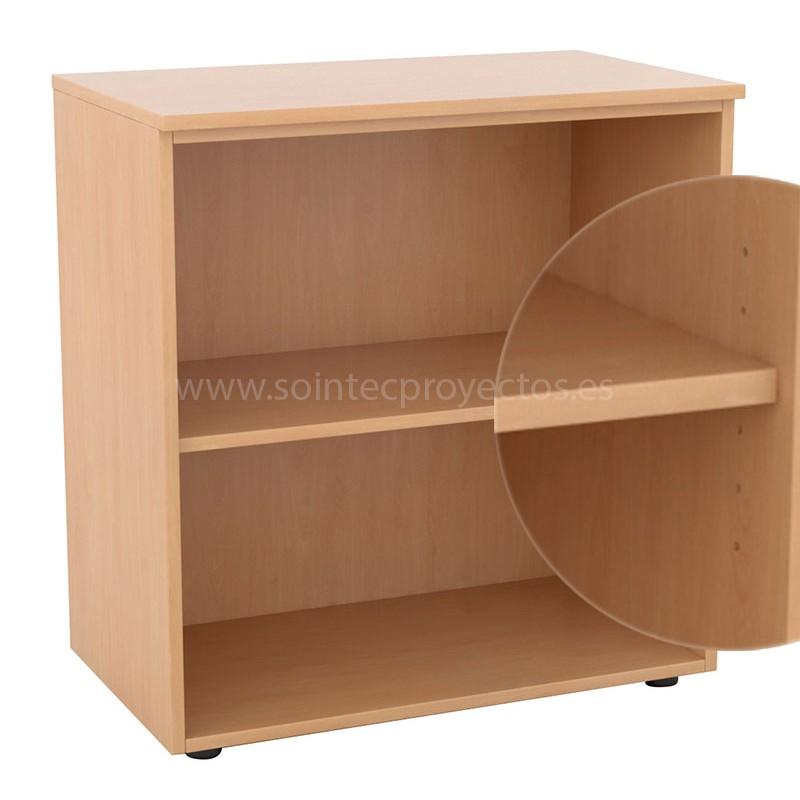 Estanter a de madera con balda regulable sointec proyectos - Balda de madera ...