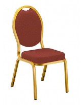 Silla apilable tapizada opera chair