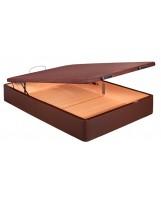 Canapé madera tapizado