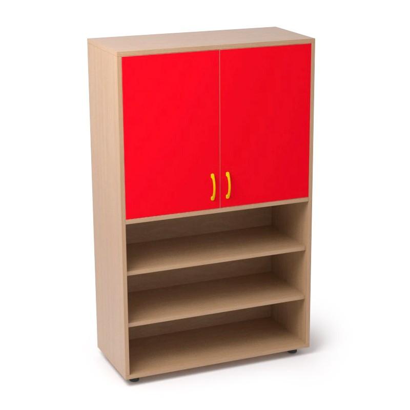 Armario de madera una balda interior y dos inferiores sointec proyectos - Balda de madera ...