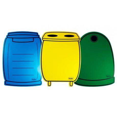 Juego de reciclaje ¡Recicla tú!