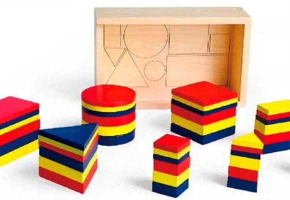 Bloques lógicos de Andreu Toys