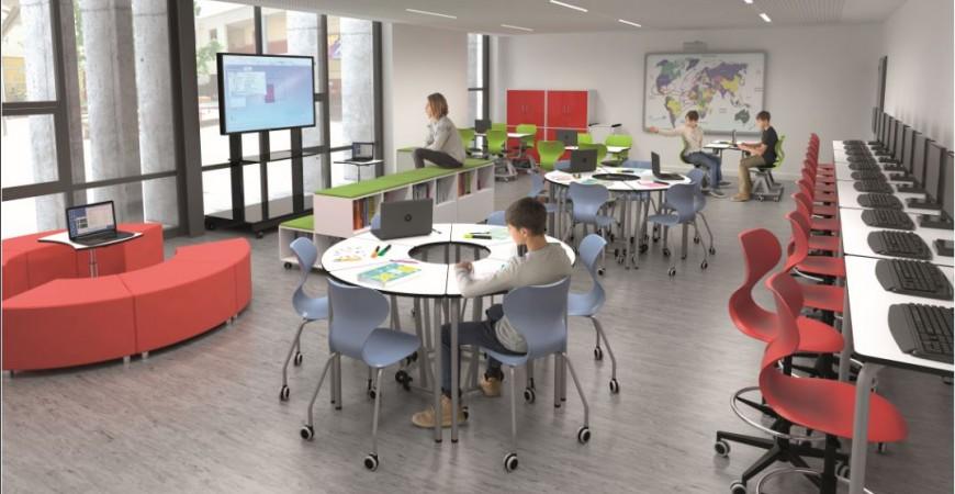 Adapta los espacios del aula a las necesidades Post-Covid